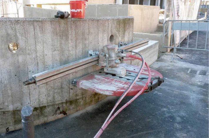 Taglio cemento armato